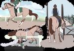 P.commission:  training Kodiak Rose (Jarydeb)