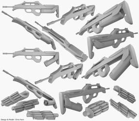 MD-Assault Rifle - hirez