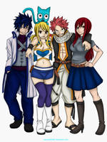 Team Natsu by Lonewolf2592