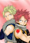 Natsu and Sting