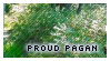 Proud Pagan Stamp by CountryHippie