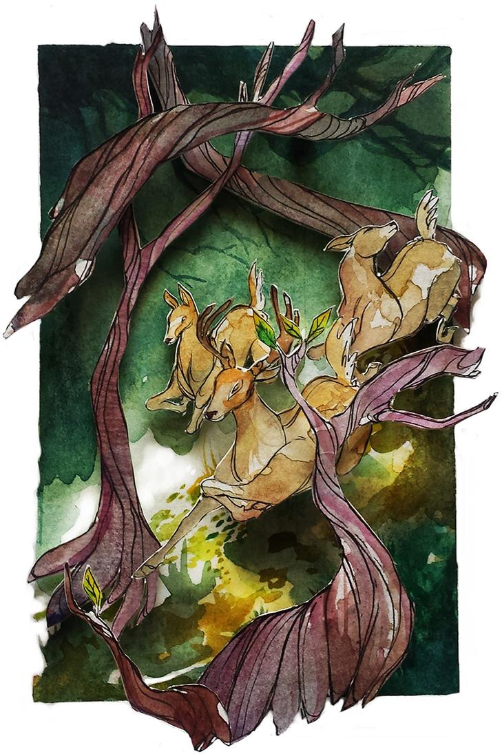 Woods by Kero-Kero-Cola