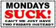 Mondays SUCK stamp by southernstingray