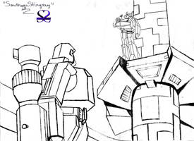 What is your command, Megatron by southernstingray