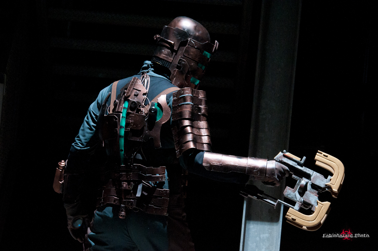 Isaac Clarke dead space by fabiohazard