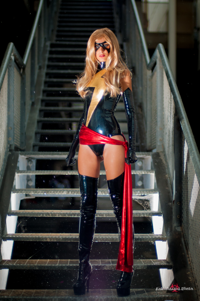 Ms Marvel by fabiohazard