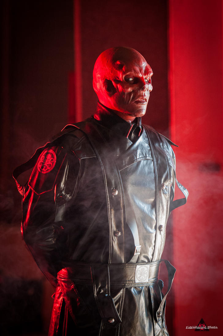 Red Skull by fabiohazard