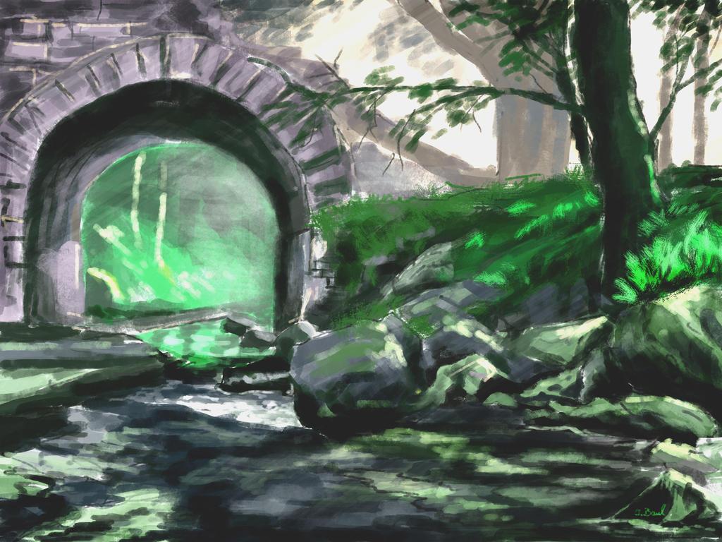 old bridge by consistor1
