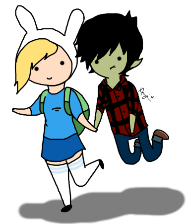 Adventure Time: Fionna And Marshall Lee by ariannejae on ...
