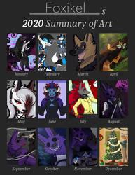 Foxikel   2020 Summary of Art