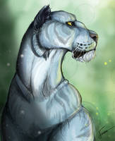 Icy Tiger by CosmicTundra