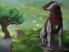 Just another elder tree by CosmicTundra