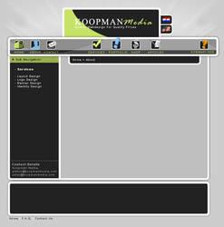 Koopman Media Layout Design