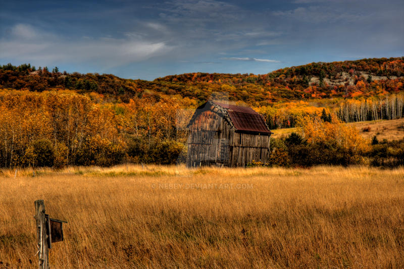 HDR Old Barn 4 by Nebey