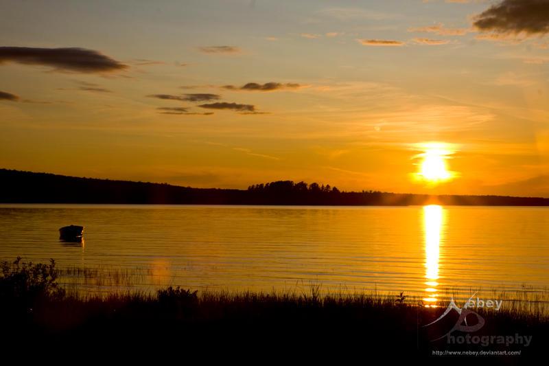 Haviland Sunset 2 by Nebey