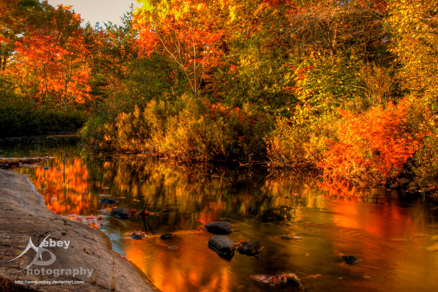 Rev Hdr Autumn River 2 By Nebey On Deviantart