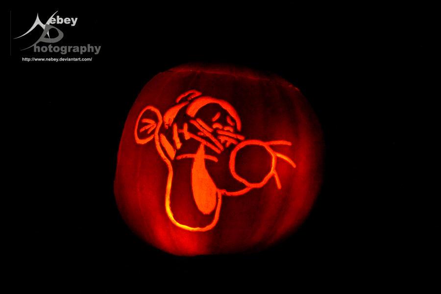 Pumpkin - Tigger by Nebey Tigger Pumpkin Carving