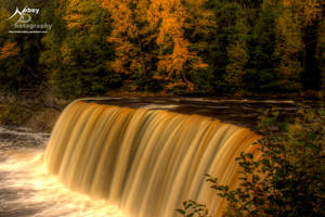 HDR Tahquamenon Falls by Nebey