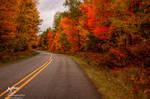 HDR Autumn Road 3