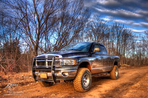 HDR Dirty Dodge Ram 2010 by Nebey