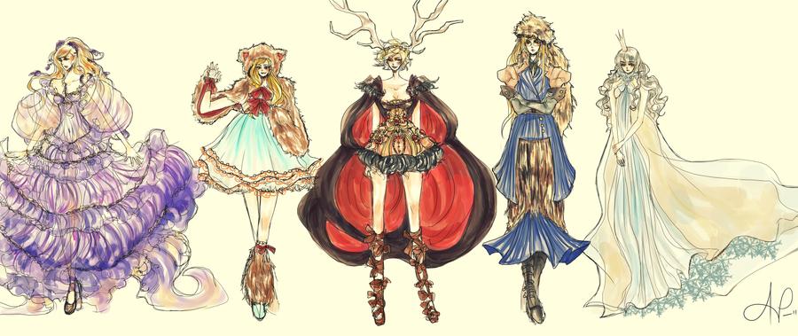 APH nyo: Nordics by vivalalixi