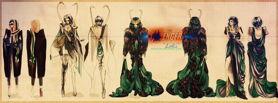 Avengers: Loki by vivalalixi