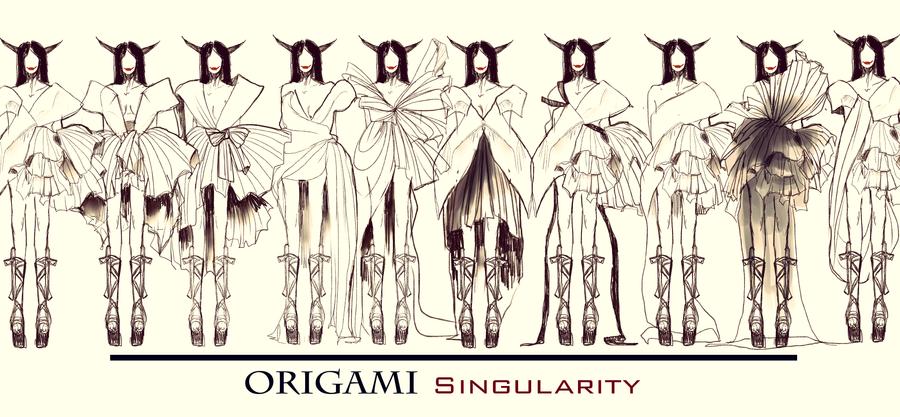 origami singularity by vivalalixi