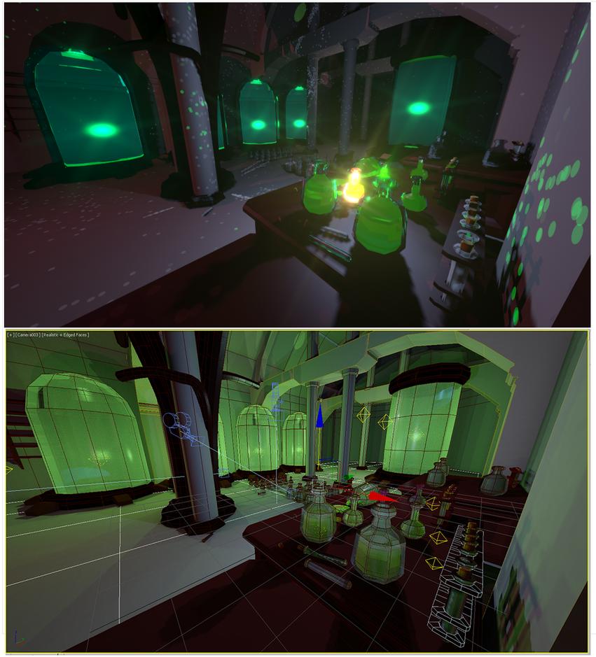 Alchelab-viewport-vs-render by VanoNTP