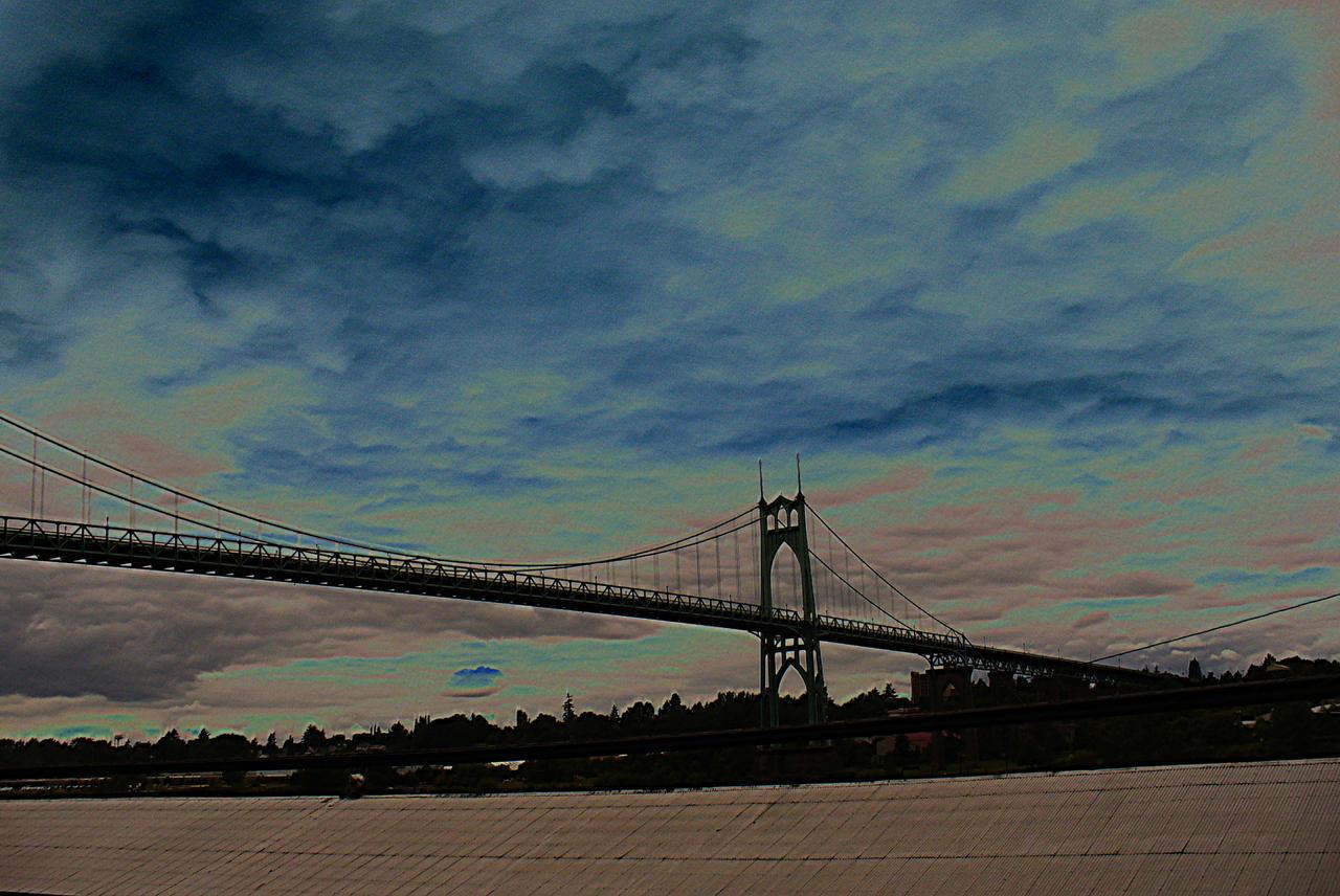 St. John's Bridge by PamplemousseCeil
