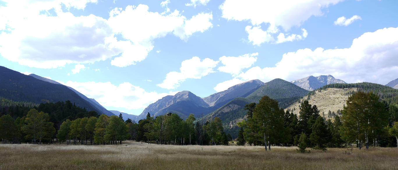 Meadow, Rocky Mountain National Park by PamplemousseCeil