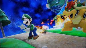 Luigi Burned