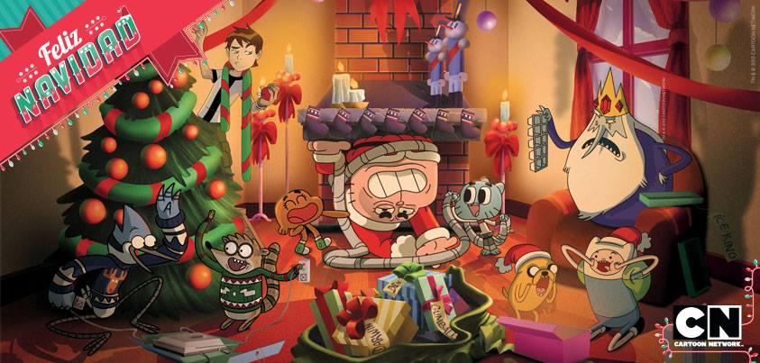 Christmas In Latin America.Merry Christmas Cartoon Network Latin America By