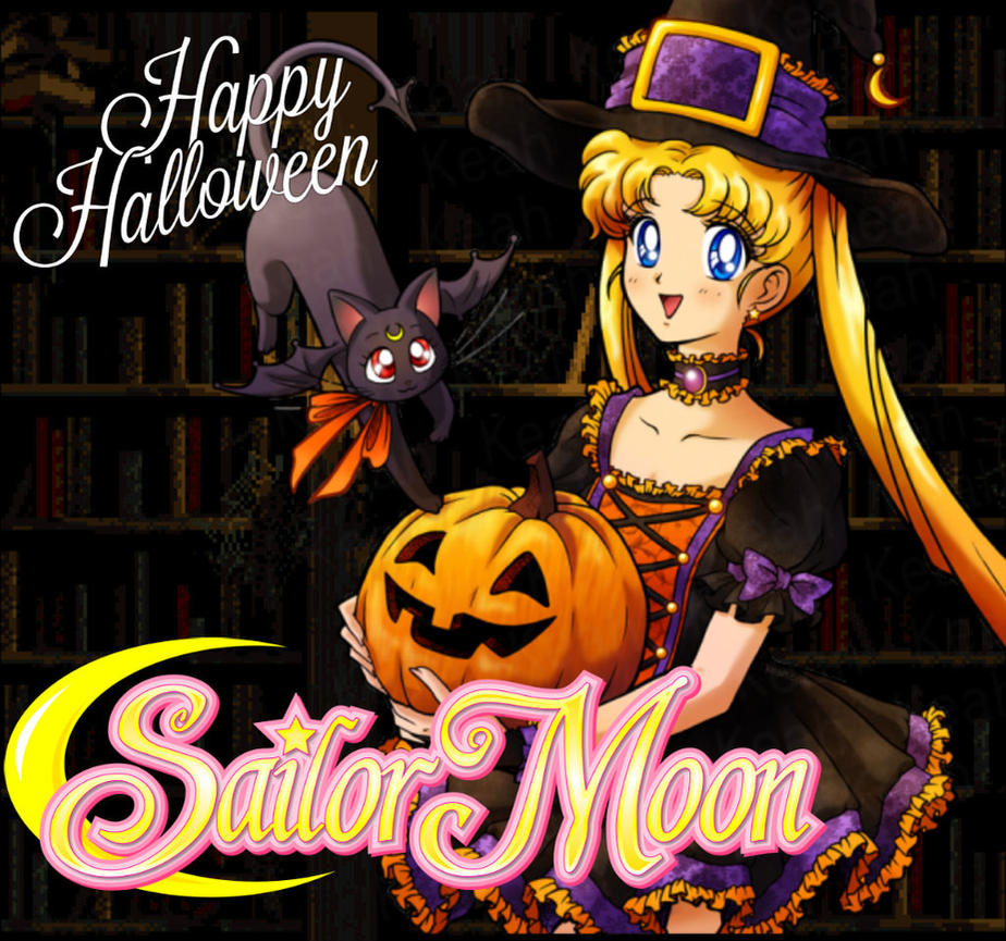 sailor moon happy halloween 2016 by thekronick900