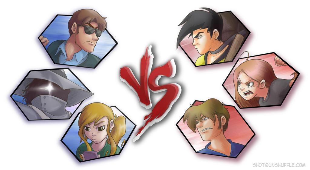 Shotgun Shuffle VS Penny Arcade by Formidabler