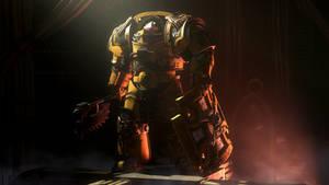 Imperial Fist Cataphractii Terminator