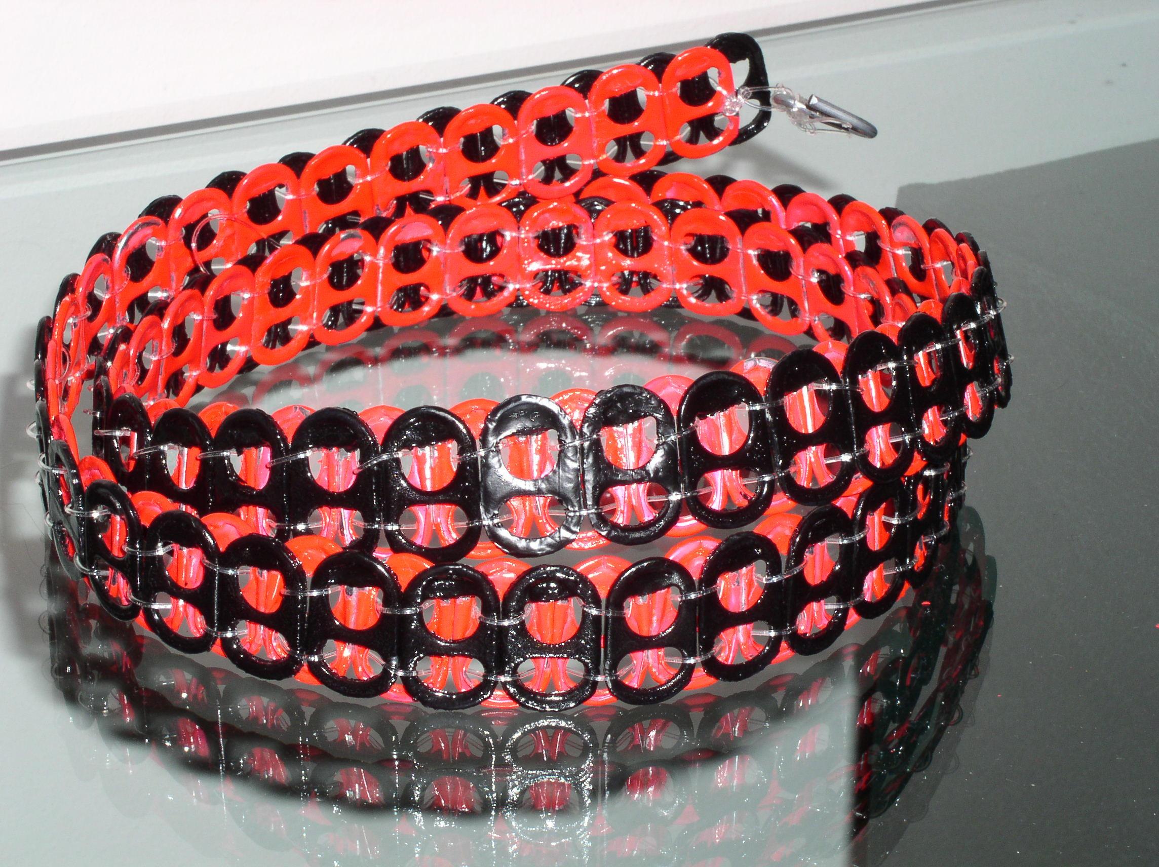 Soda pop tabs crafts - Pop Tab Belt By Dietcokefiend Pop Tab Belt By Dietcokefiend