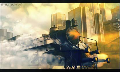 Industrial dreams by EhsanA
