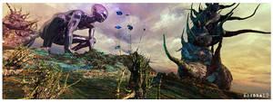 Alien form by EhsanA
