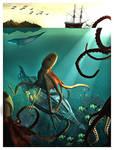 The Nautilus and the squid