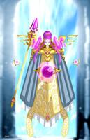 Chalestale Queen of wizards by AKK-STUDIO