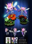 3D Fairy lowpoly