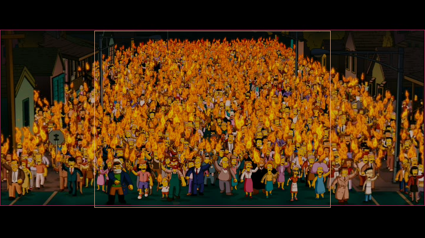 The Simpsons Movie Angry Mob Ws Vs Fs By Monicapixarfan2001 On Deviantart