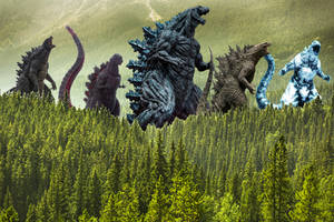 Godzillas In The Forest