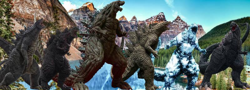 Godzillas In Banff National Park