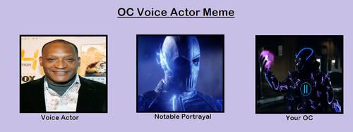 OC Voice Actor: Kronos