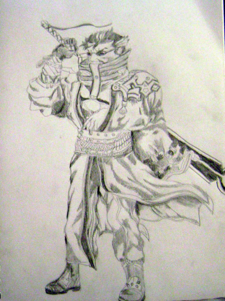 Auron Final Fantasy X By Inklaw On Deviantart