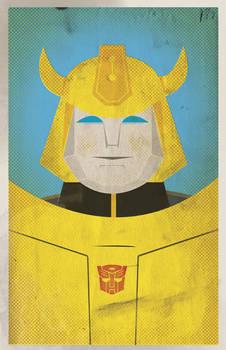 Botcon 2012 Bumblebee card
