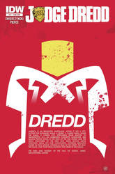 Variant cover for IDW's Judge Dredd #21