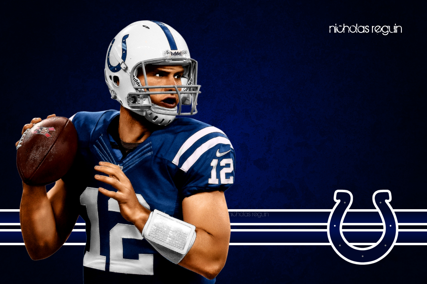 Andrew Luck Indianapolis Colts Computer Background By NicholasReguin