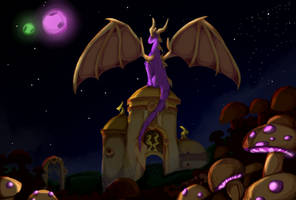 TLoS Spyro Prophesy Colored by FoxyTthePirateFoxGir